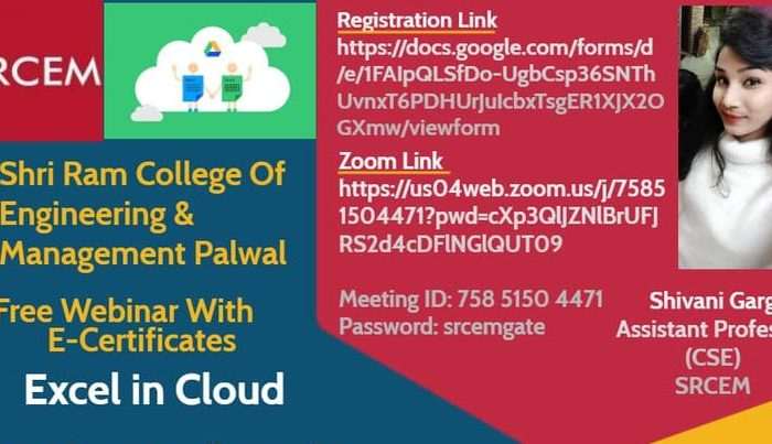 Free Webinar With E Certificates on Excel in Cloud