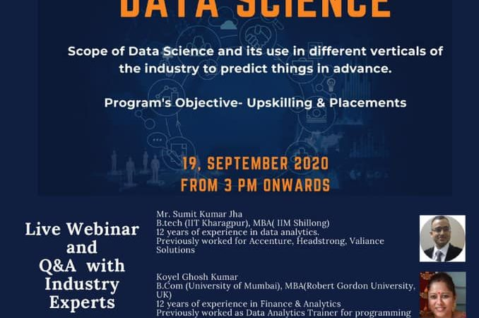 Webinar On Data Science