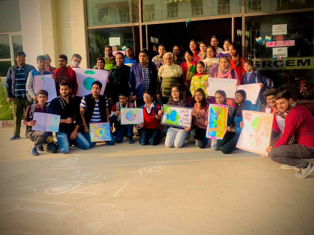 Poster Making Competition 2K21 was organised by ASH Department on SAVE ENVIRONMENT