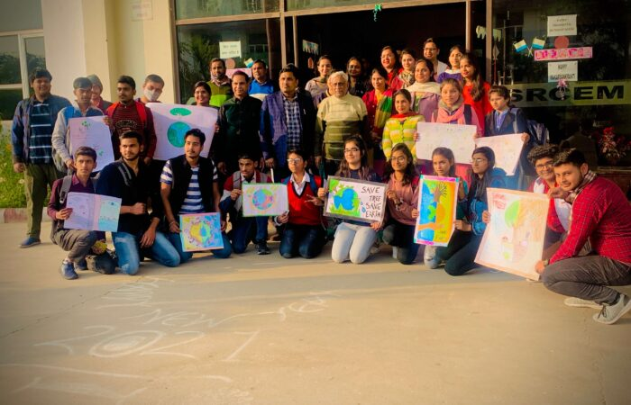 """Poster Making Competition 2K21 was organised by ASH Department on """"SAVE ENVIRONMENT"""""""