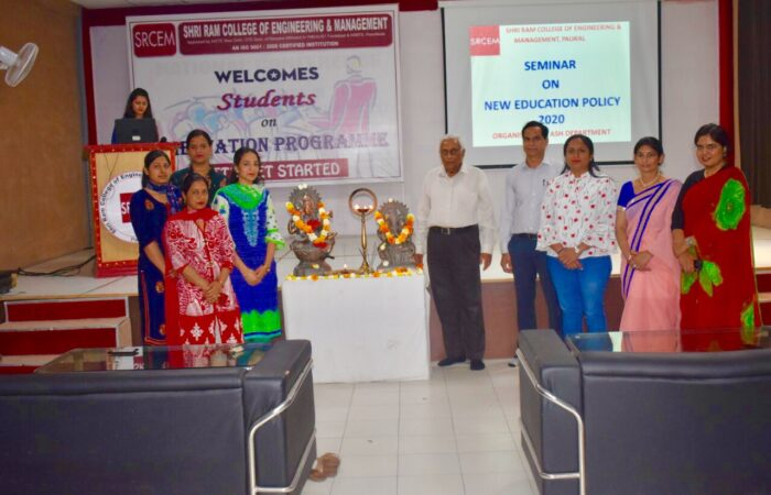 "One-day Seminar conducted on ""National Education Policy 2020"""